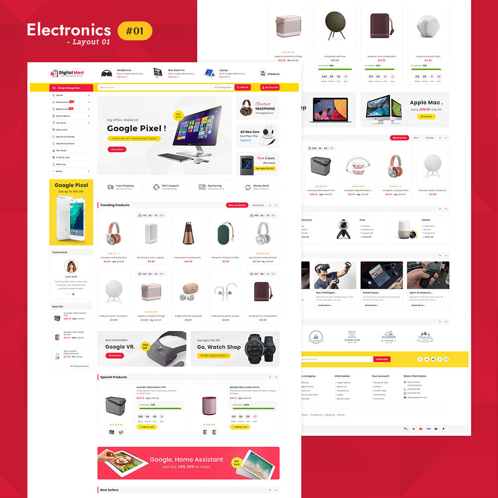 theme - Electrónica e High Tech - Digital Mart - Multi-purpose Mega Store - 2
