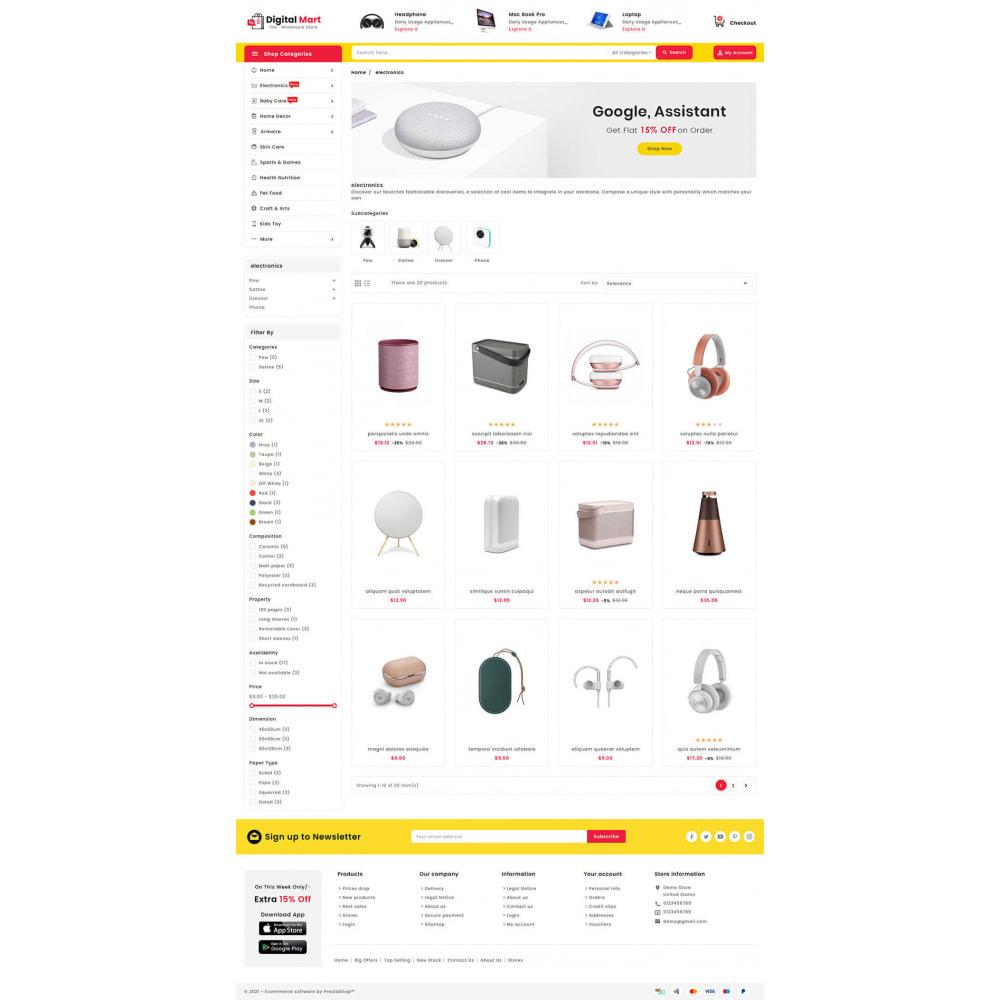 theme - Elektronik & High Tech - Digital Mart - Multi-purpose Mega Store - 13
