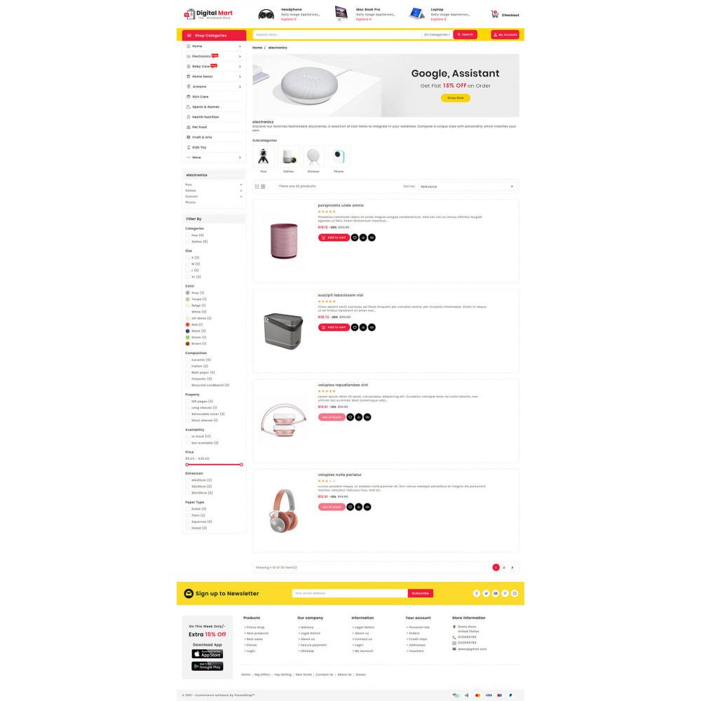 theme - Elektronik & High Tech - Digital Mart - Multi-purpose Mega Store - 14