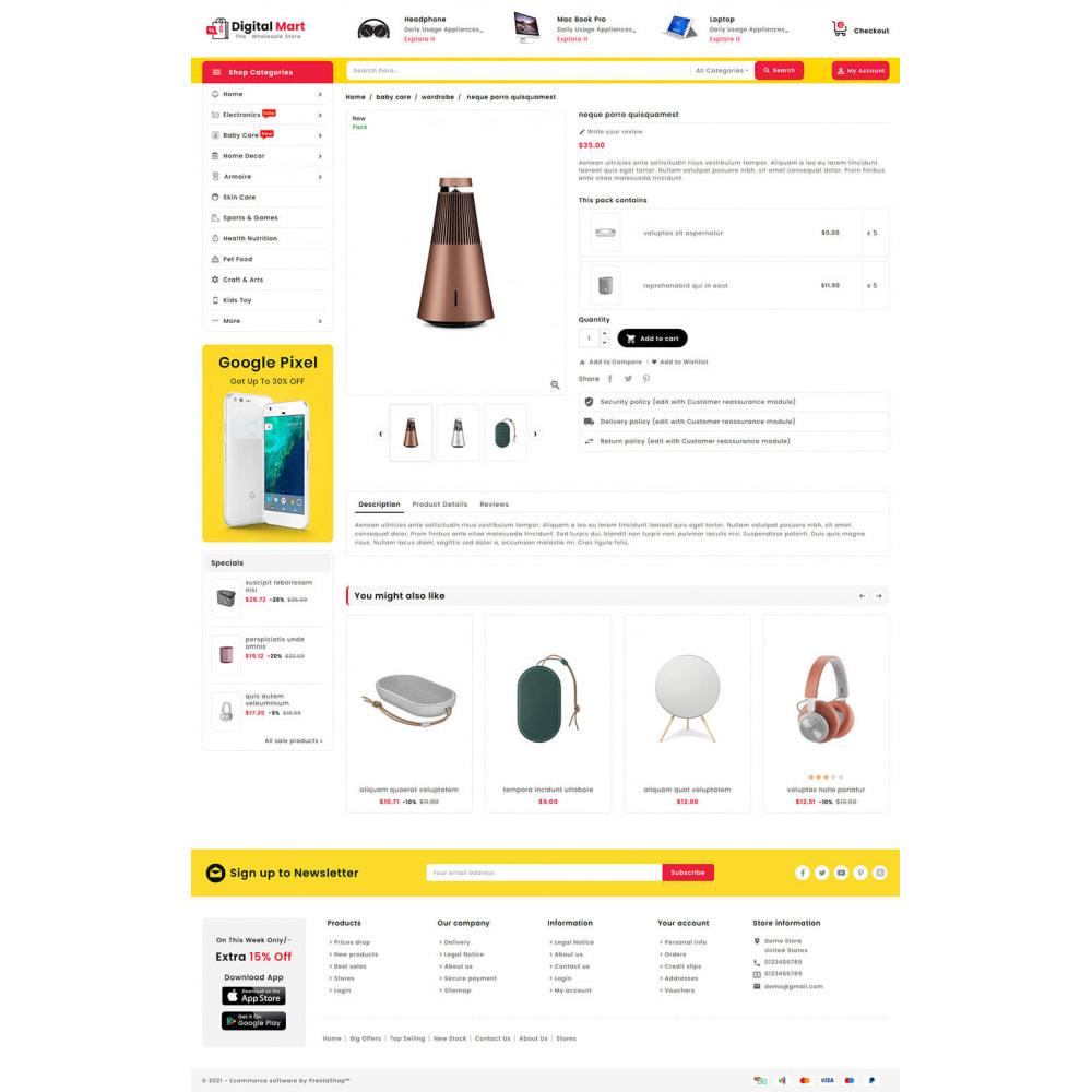 theme - Elektronik & High Tech - Digital Mart - Multi-purpose Mega Store - 15