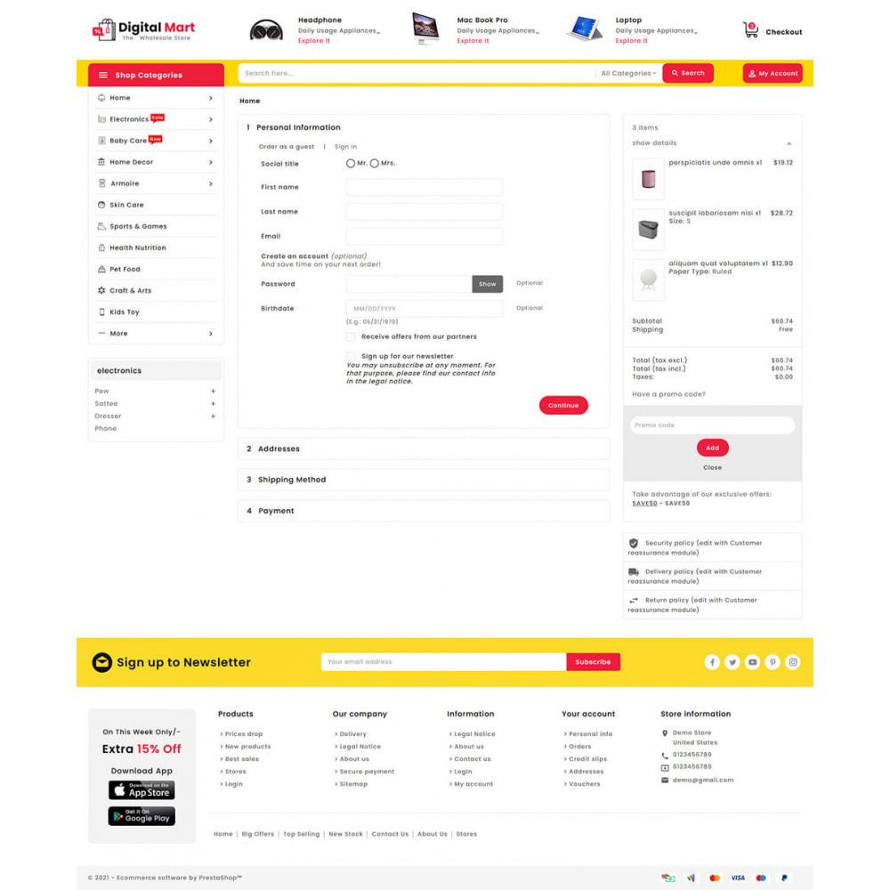 theme - Elektronik & High Tech - Digital Mart - Multi-purpose Mega Store - 17