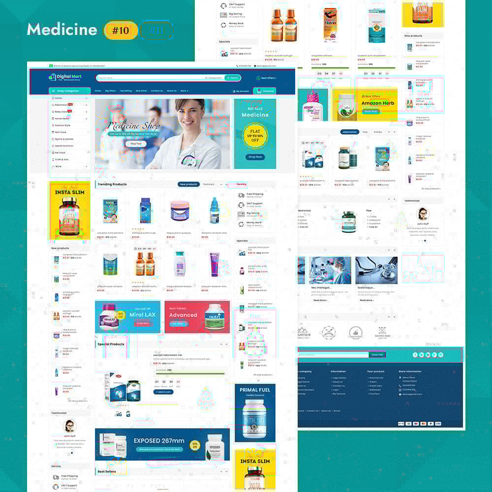 theme - Elettronica & High Tech - Digital Mart - Multi-purpose Mega Store - 11