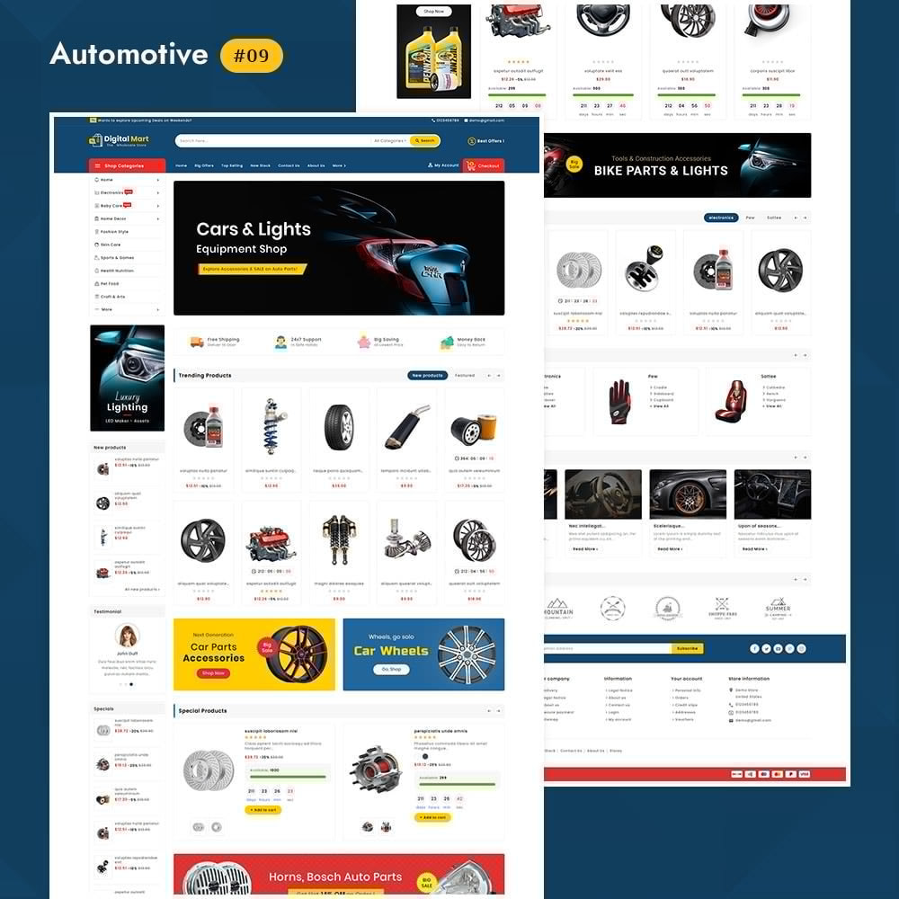 theme - Электроника и компьютеры - Digital Mart - Multi-purpose Mega Store - 10