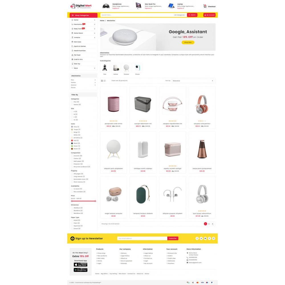 theme - Электроника и компьютеры - Digital Mart - Multi-purpose Mega Store - 13