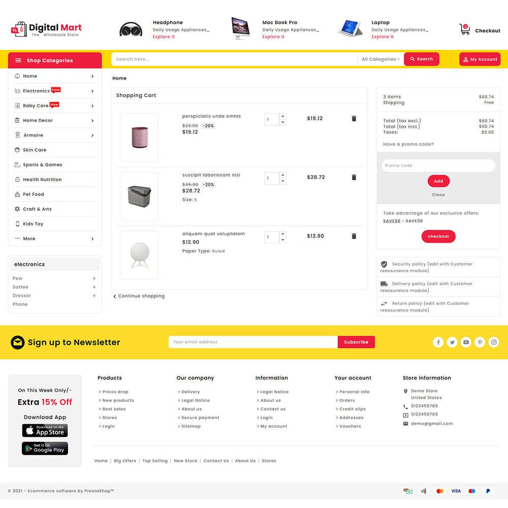 theme - Электроника и компьютеры - Digital Mart - Multi-purpose Mega Store - 16