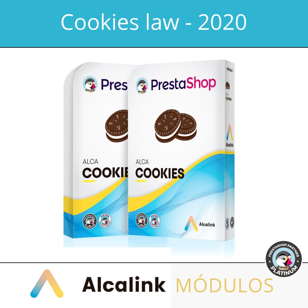 module - Wzmianki prawne - Cookies configuration law - 2021 - 1