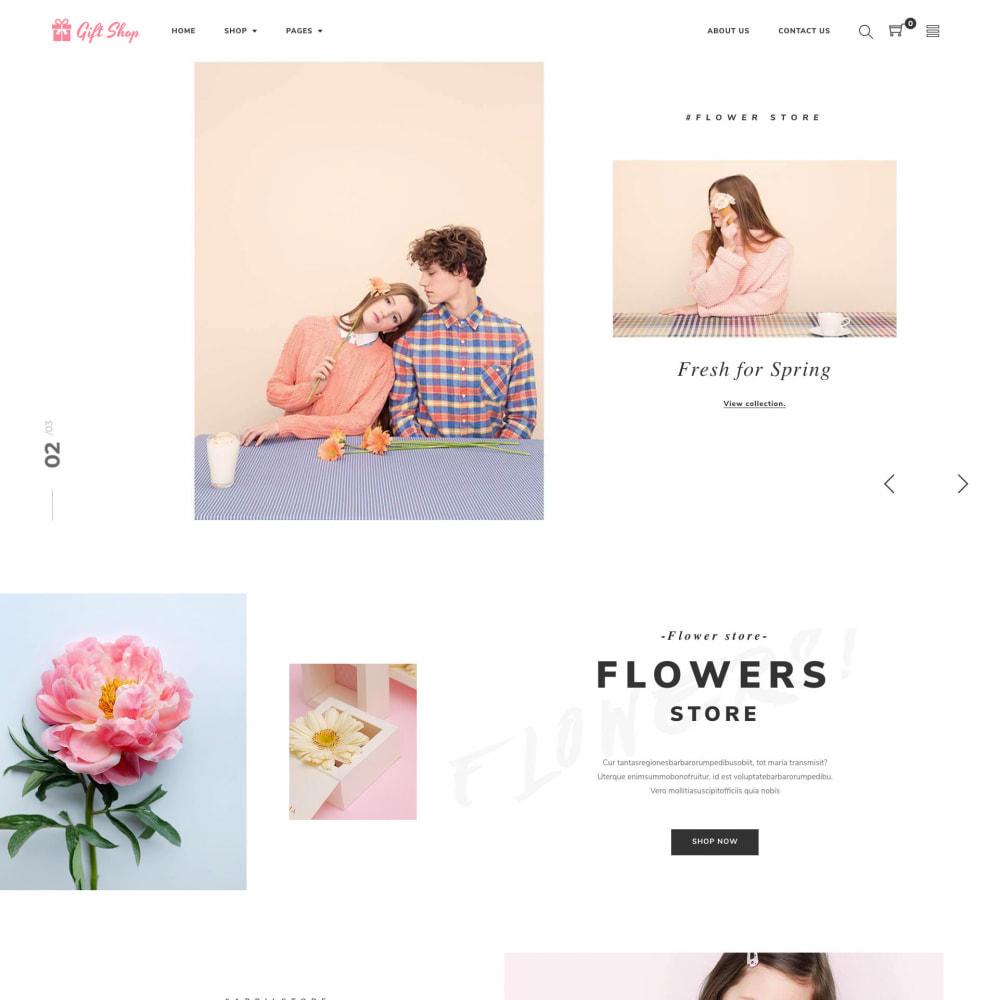 theme - Prezenty, Kwiaty & Uroczystości - Flower Store eCommerce Bootstrap 4 - 1