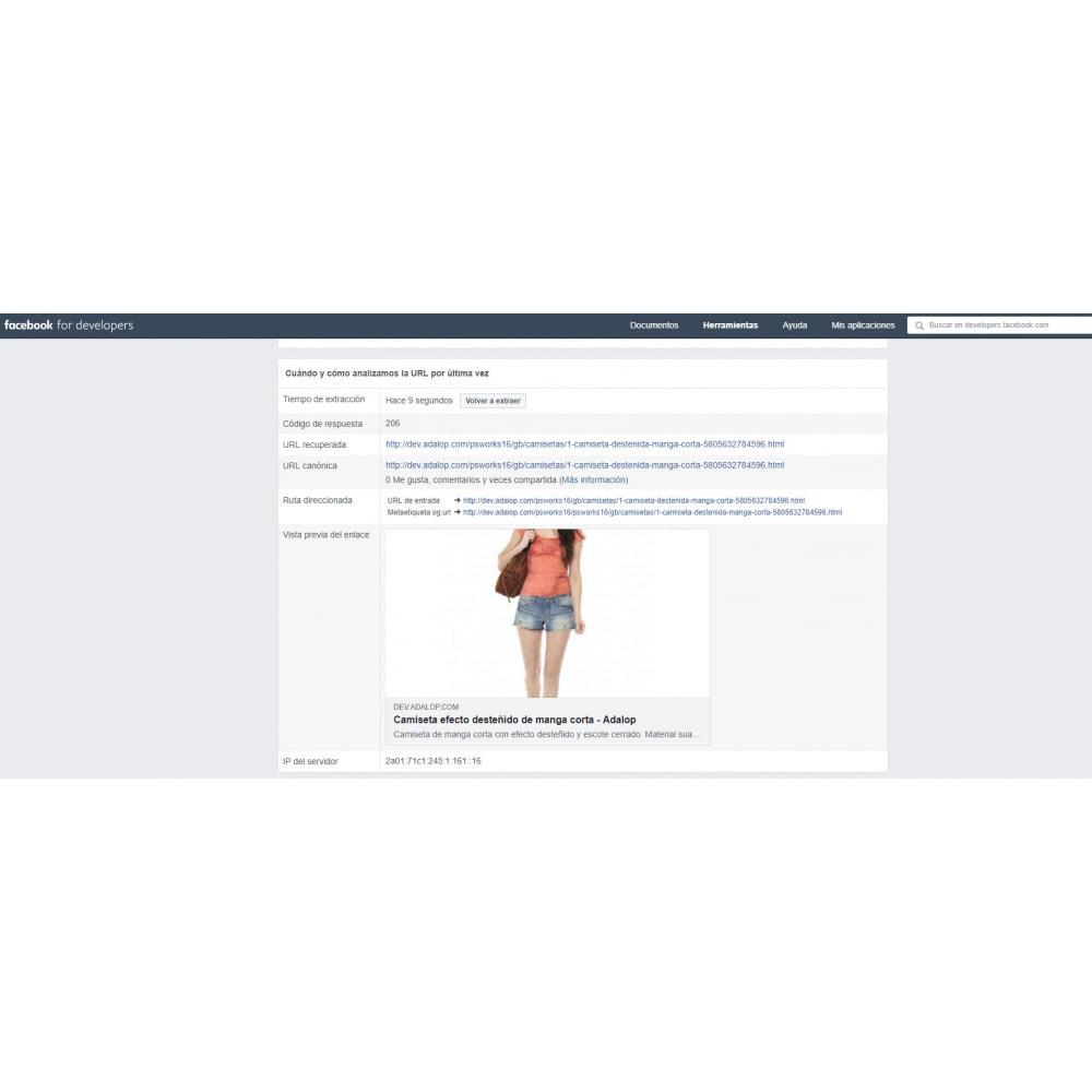 module - Compartir contenidos y Comentarios - Integración completa y Personalización Open Graph - SEO - 9