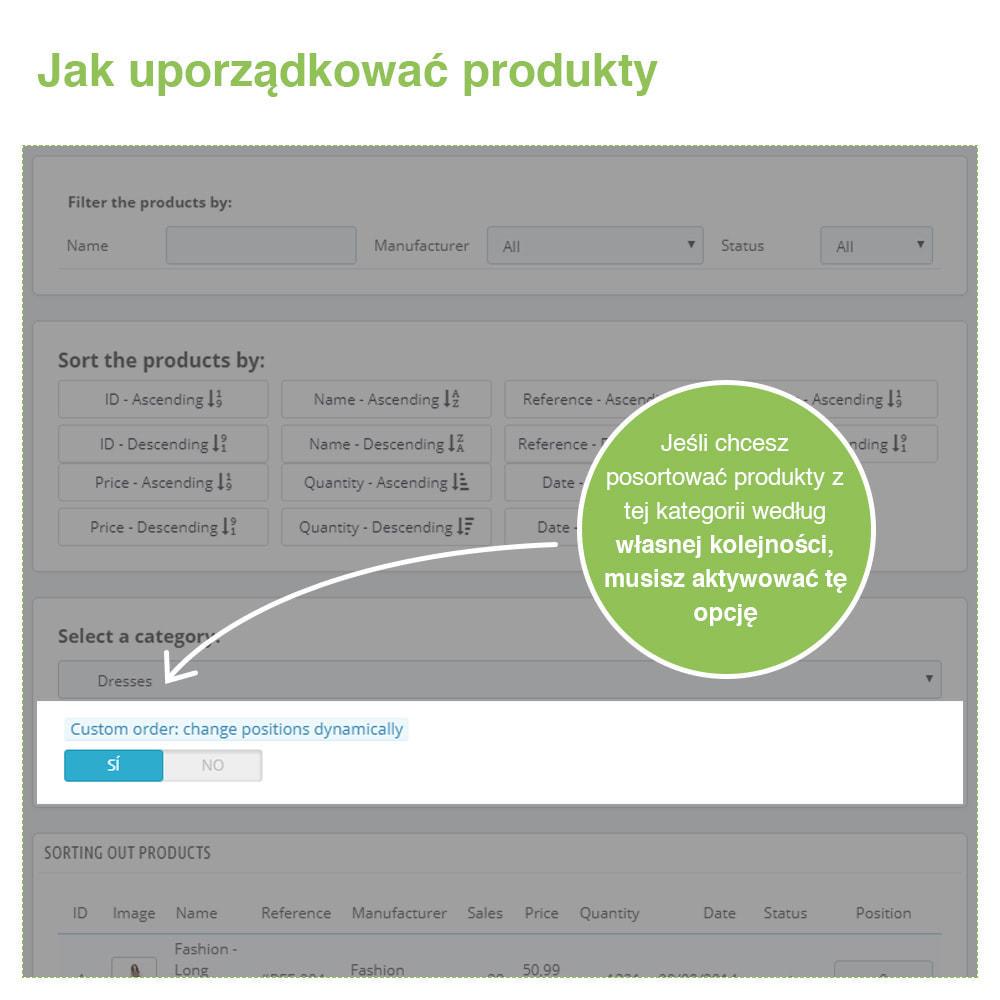 module - Szybkie & Masowe edytowanie - Sort Products: Sortuj Produkty w Kategoriach - 4