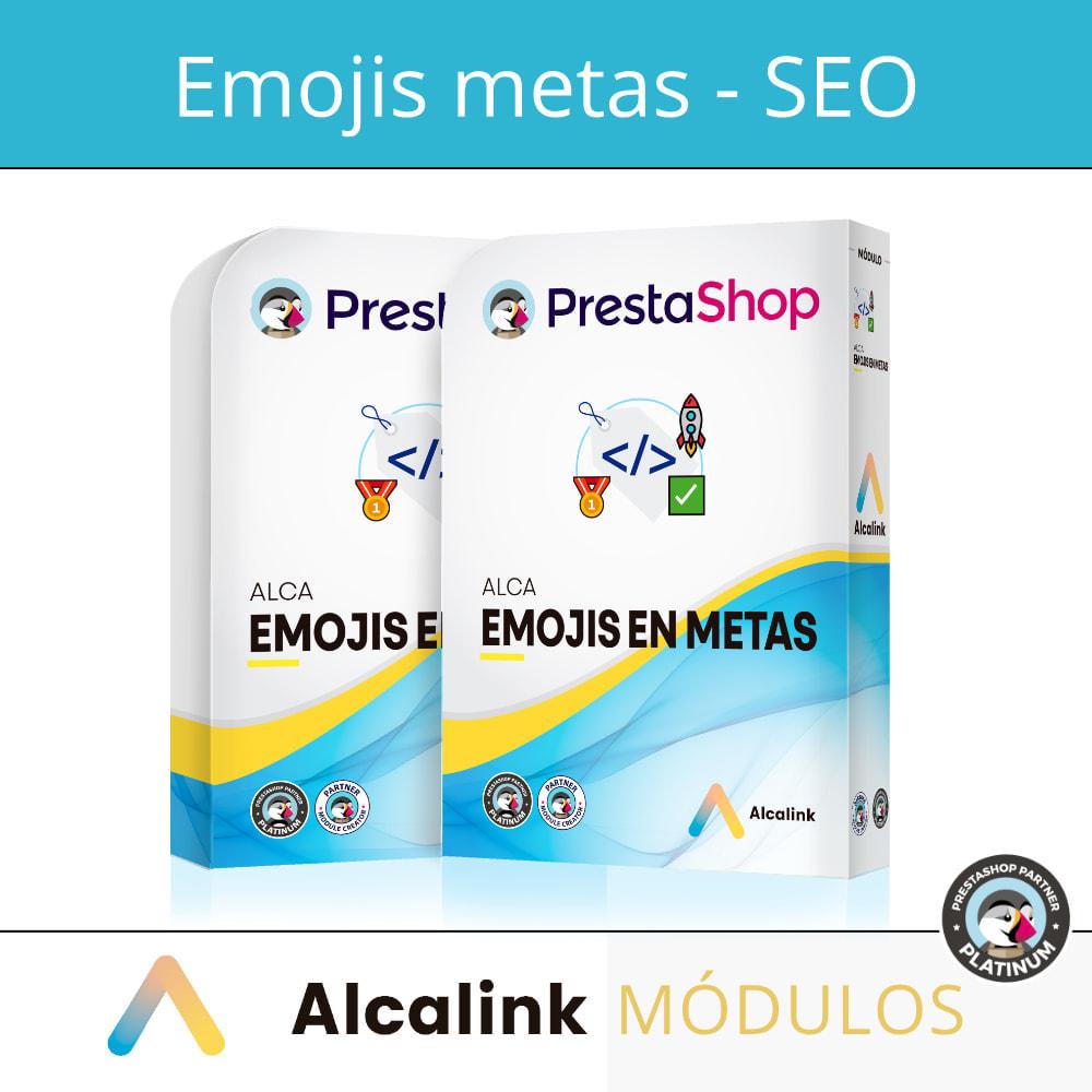 module - SEO (référencement naturel) - Emojis dans metas (produits, catégories, CMS ...) - SEO - 1