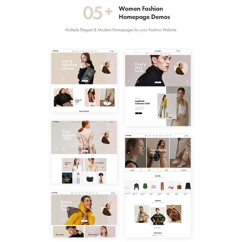 theme - Mode & Chaussures - Leo Woncep High-End Women Fashion Prestashop Theme - 2