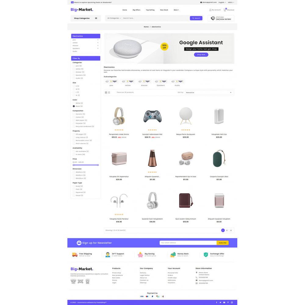 theme - Electrónica e High Tech - Big Market - Multi-purpose Mega Store - 14