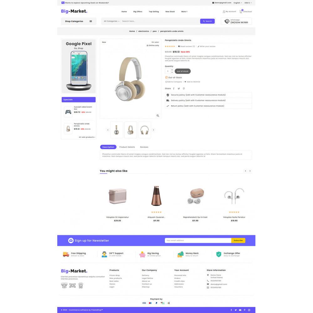 theme - Electrónica e High Tech - Big Market - Multi-purpose Mega Store - 16