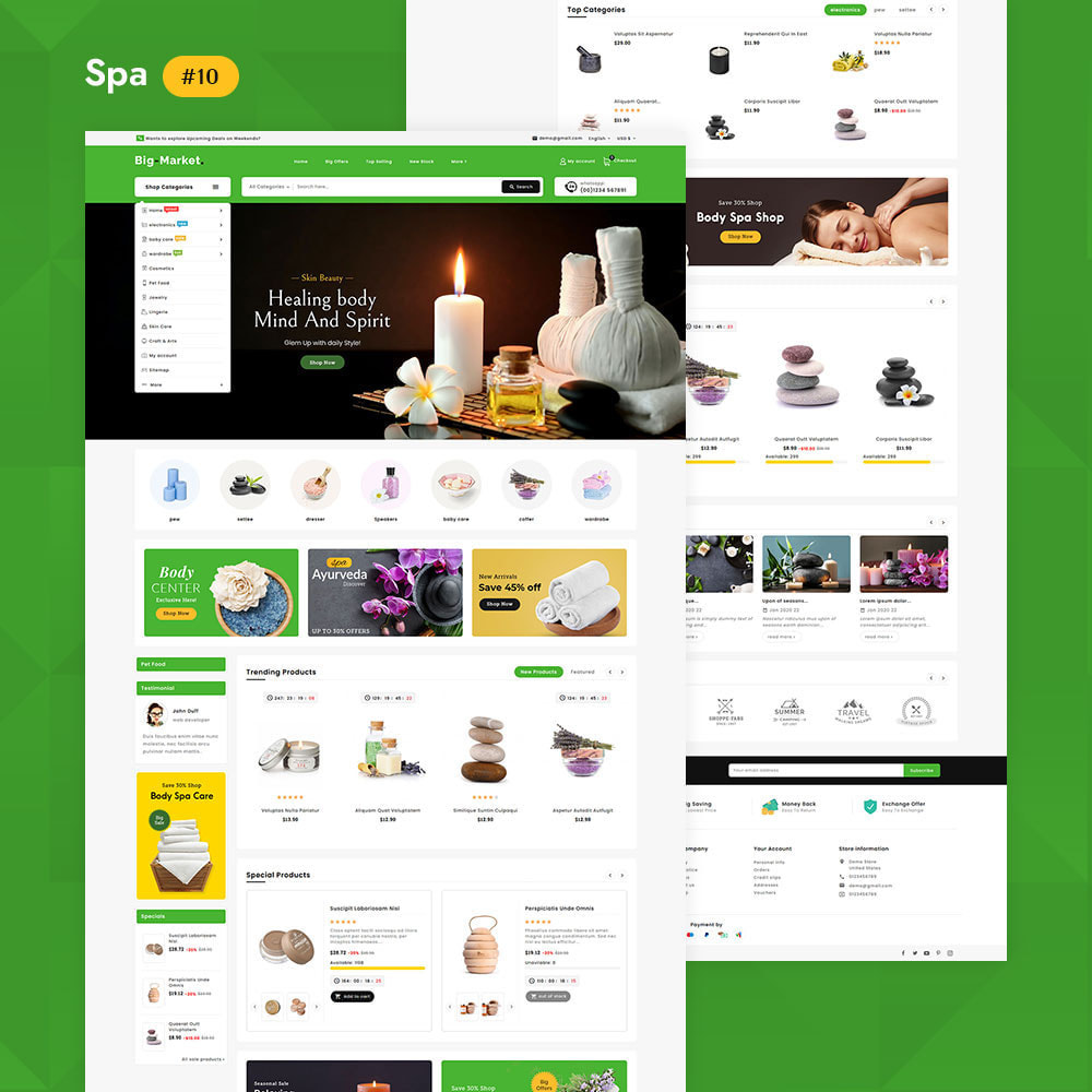 theme - Elettronica & High Tech - Big Market - Multi-purpose Mega Store - 12