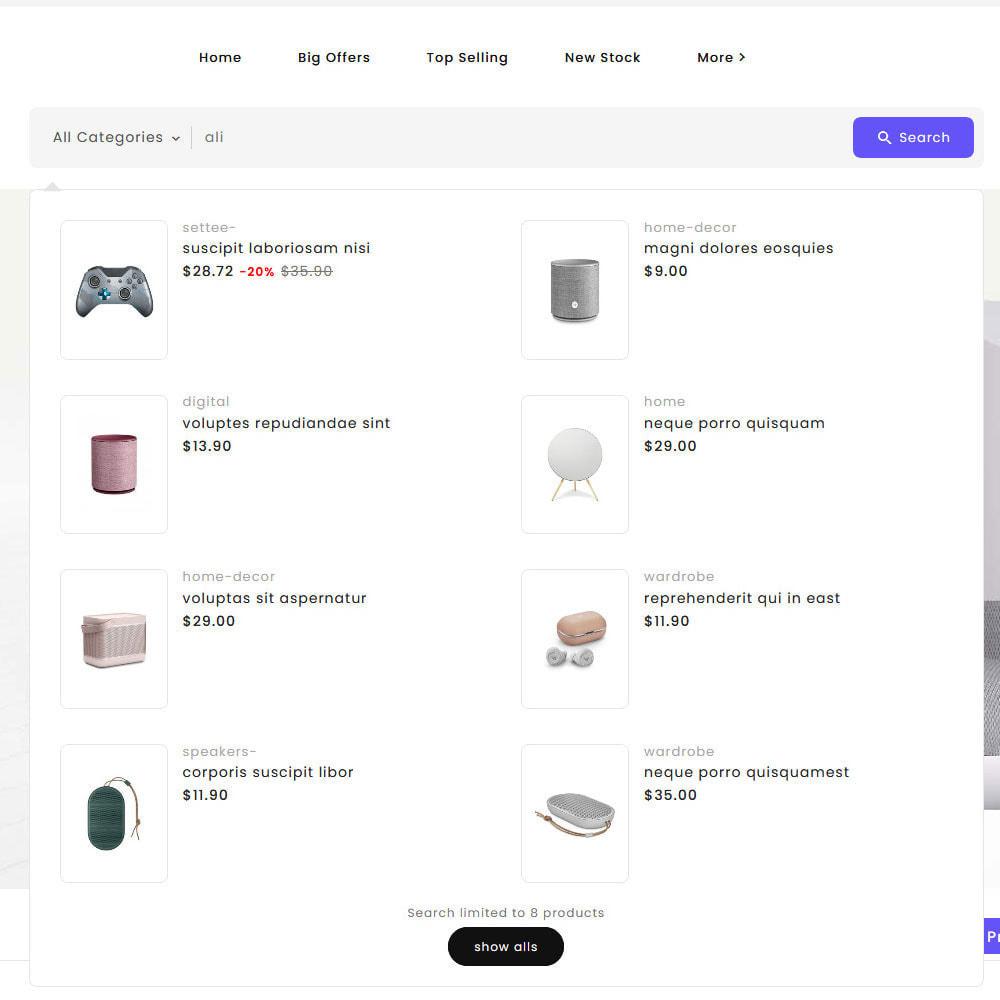 theme - Elettronica & High Tech - Big Market - Multi-purpose Mega Store - 21
