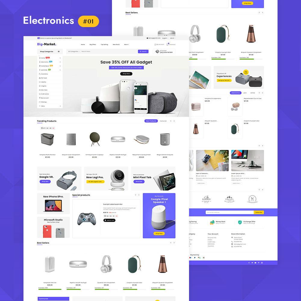 theme - Eletrônicos & High Tech - Big Market - Multi-purpose Mega Store - 3