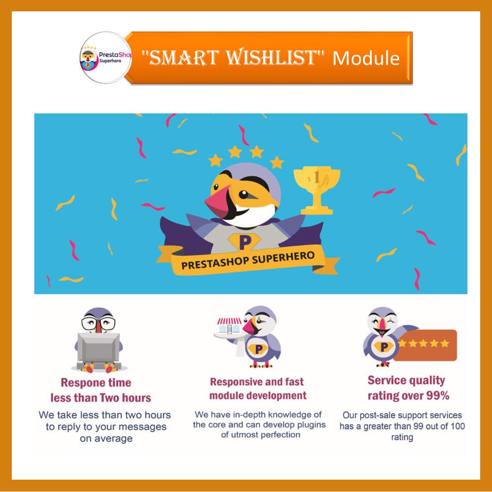 module - Wishlist & Gift Card - Smart Wishlist - 3
