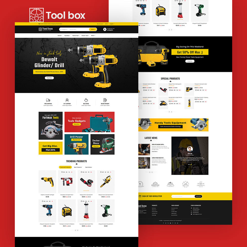 theme - Electronique & High Tech - ToolBox - Drill Tools & Equipment - 4