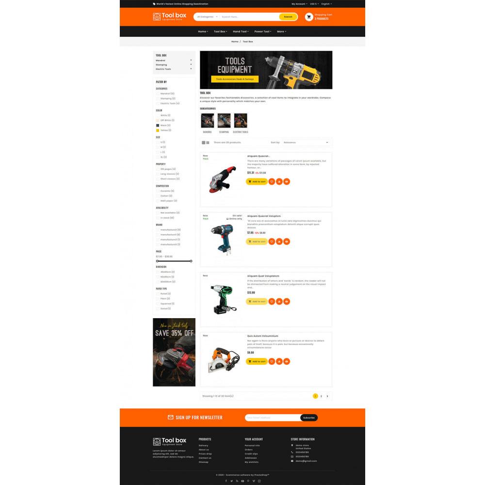 theme - Elettronica & High Tech - ToolBox - Drill Tools & Equipment - 9