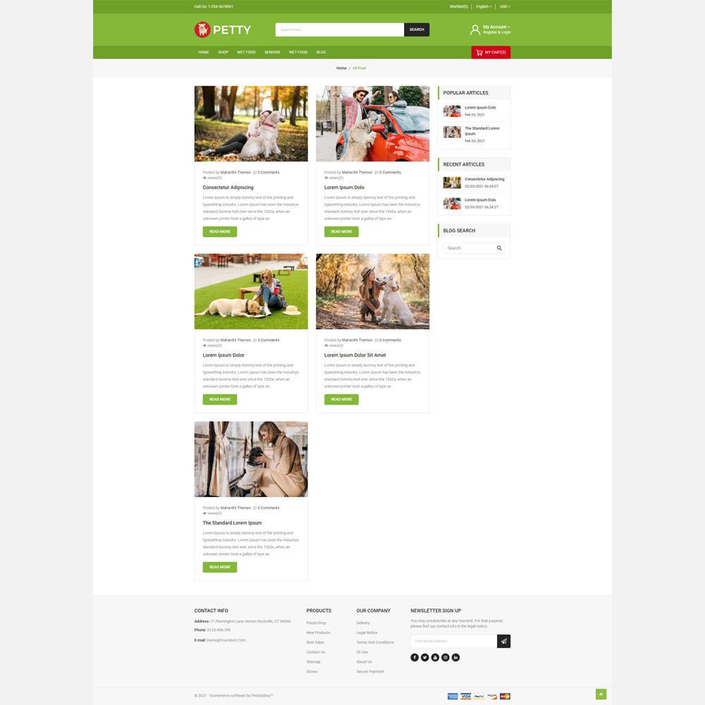 theme - Animals & Pets - Petty Store - 5