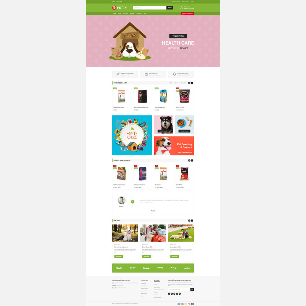 theme - Animais - Petty store - 2