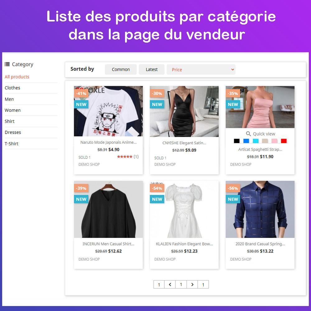 module - Création de Marketplace - Marché du commerce électronique multi-vendeurs - 8