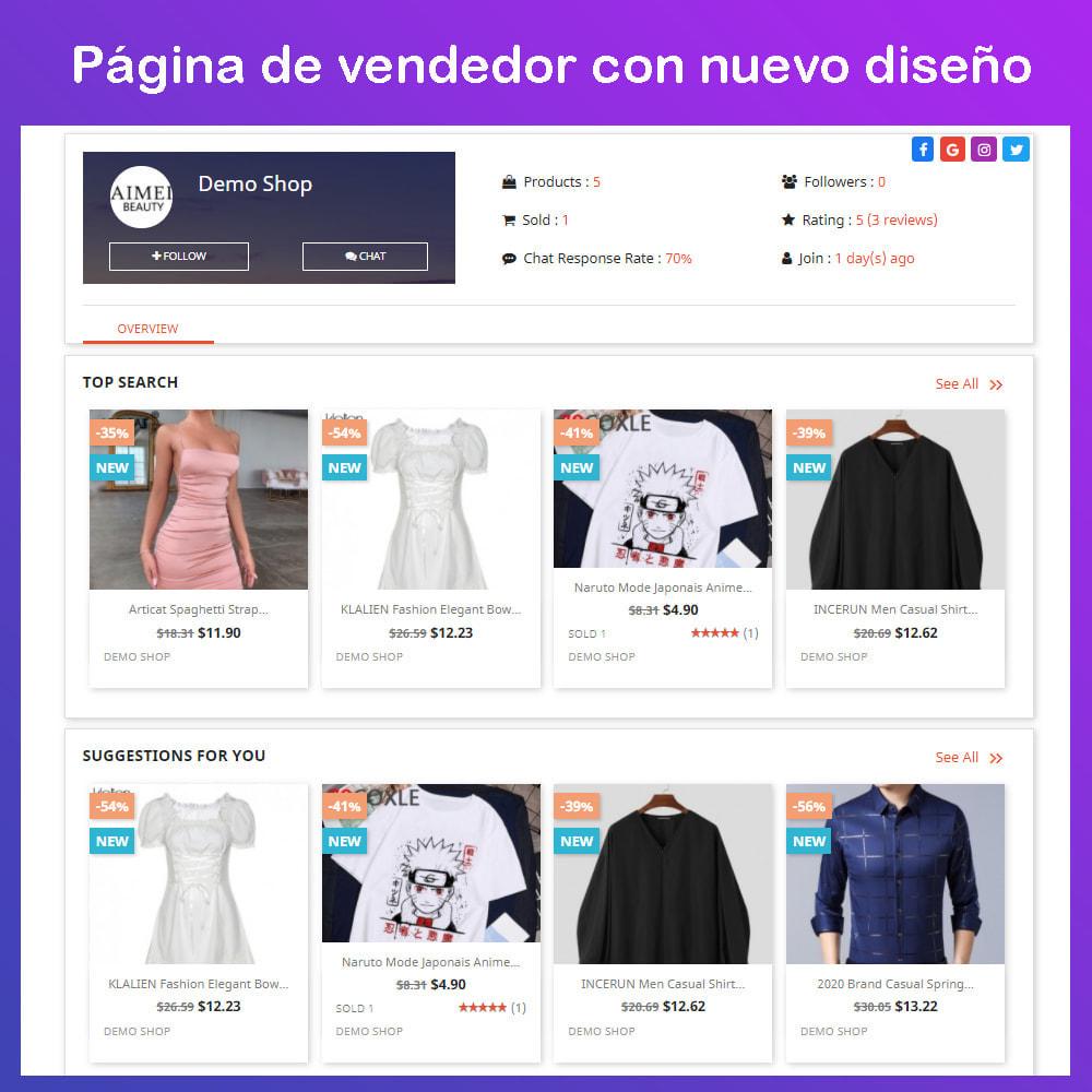 module - Creación de Marketplace - Multi Vendor Ecommerce Marketplace - 8