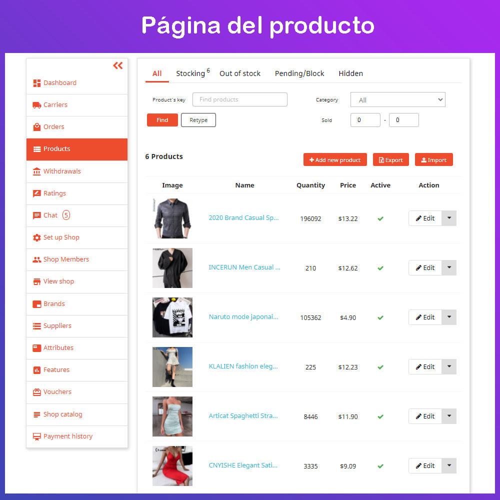 module - Creación de Marketplace - Multi Vendor Ecommerce Marketplace - 15