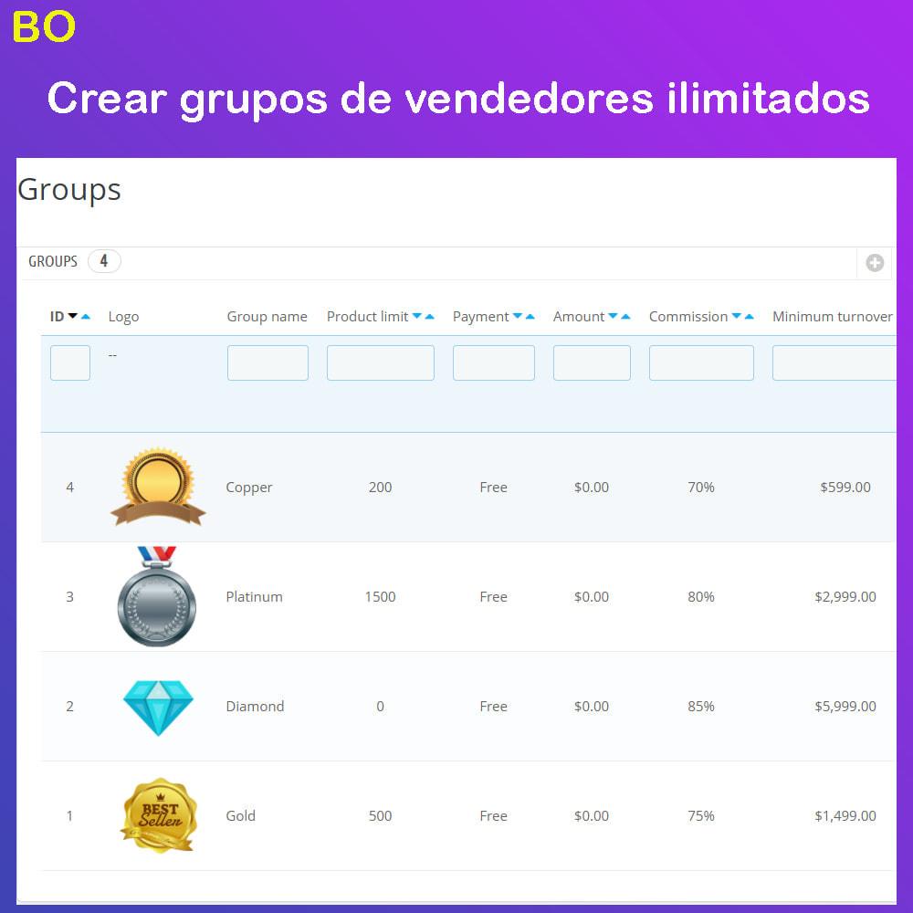 module - Creación de Marketplace - Multi Vendor Ecommerce Marketplace - 31