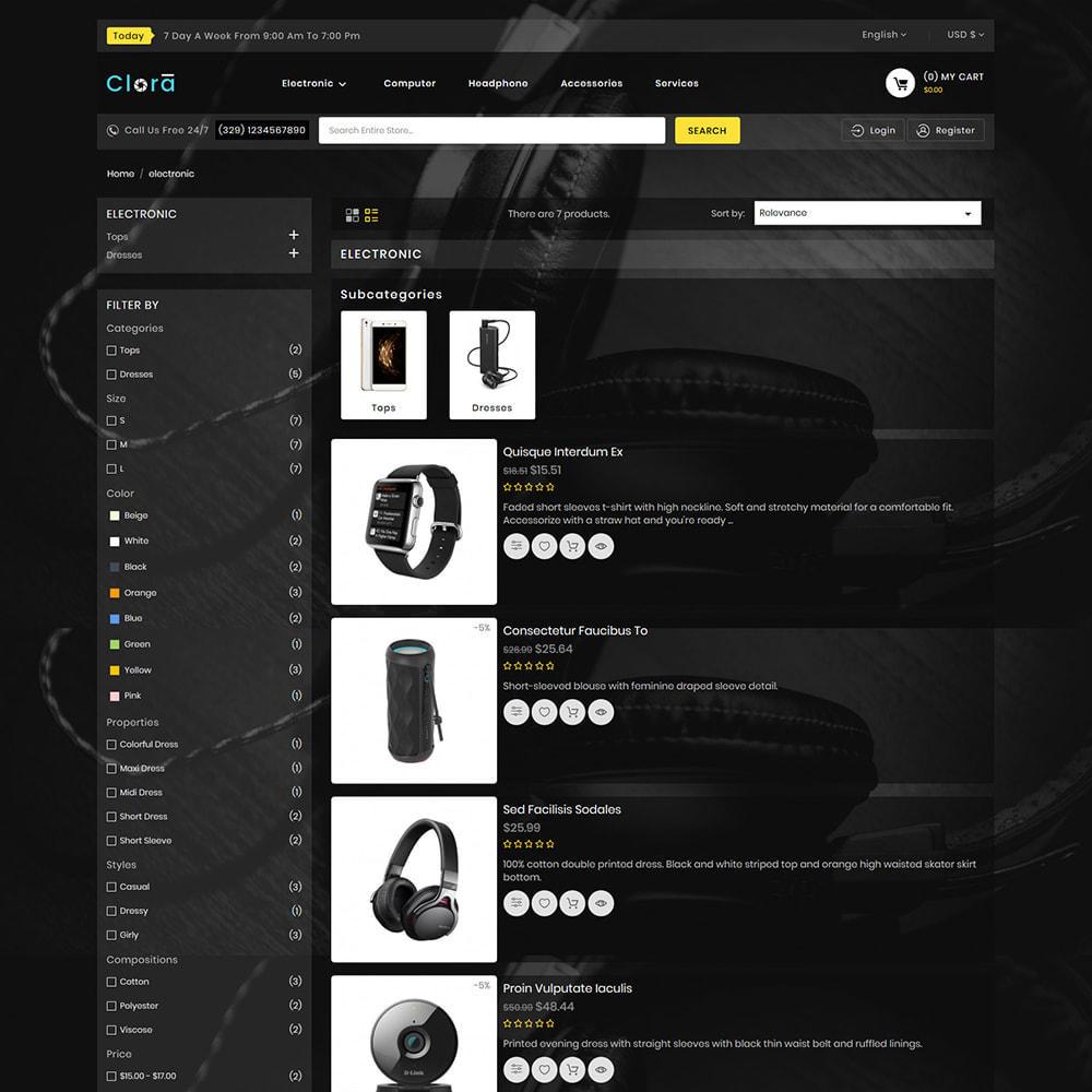 theme - Electronics & Computers - Clora - Super Multistore Mart - 4