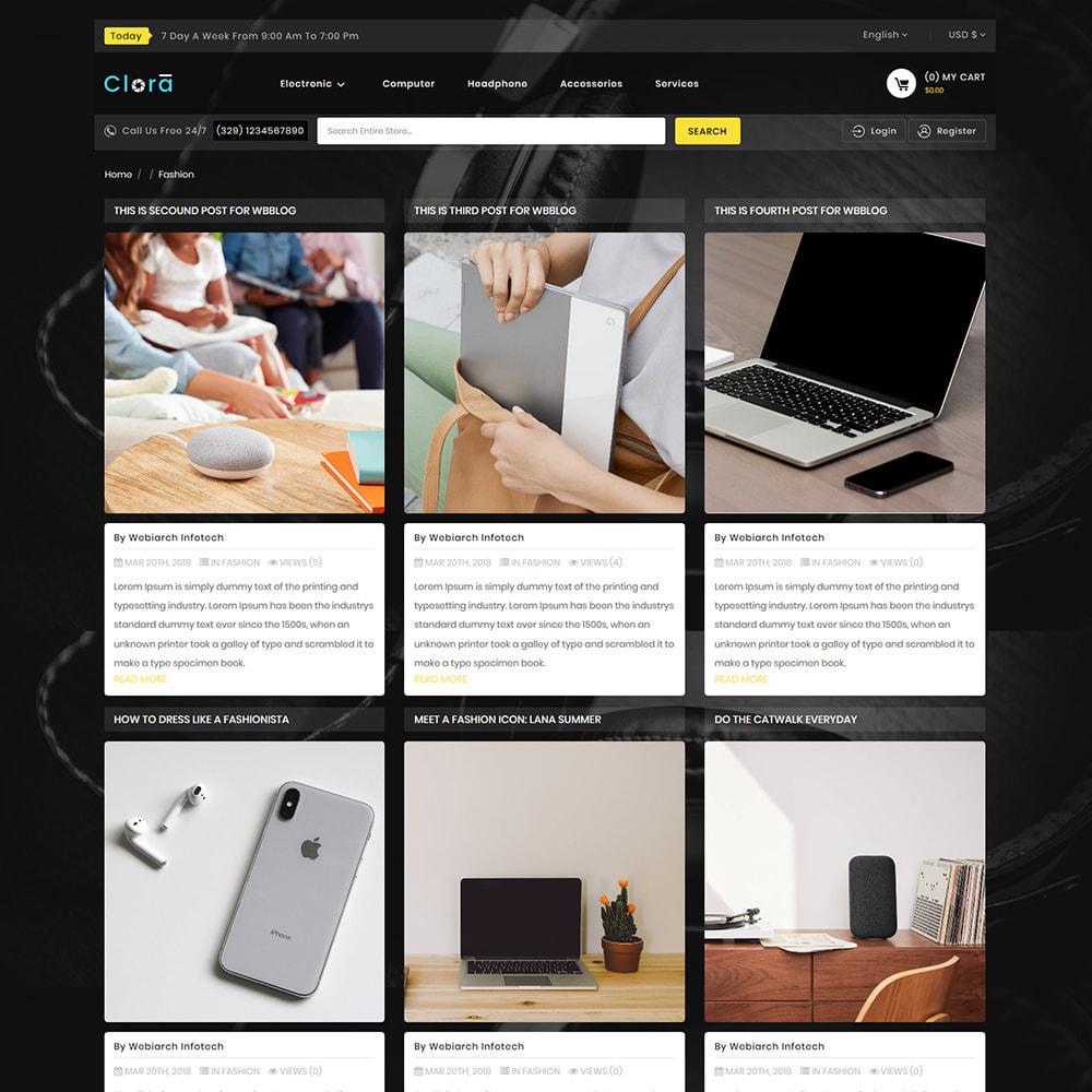 theme - Electronics & Computers - Clora - Super Multistore Mart - 6
