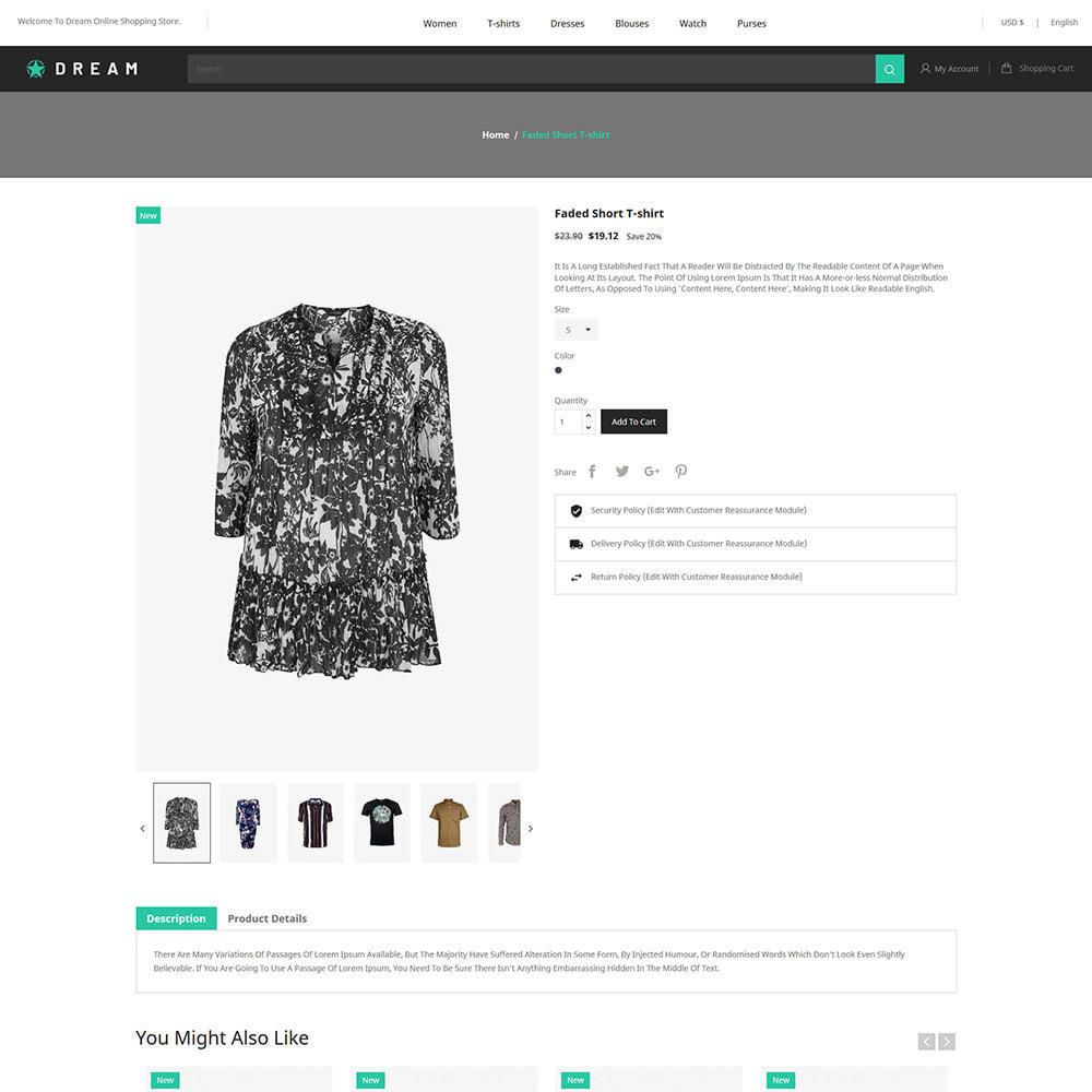 theme - Fashion & Shoes - Dream Fashion - Designer Cloth Black Store - 5