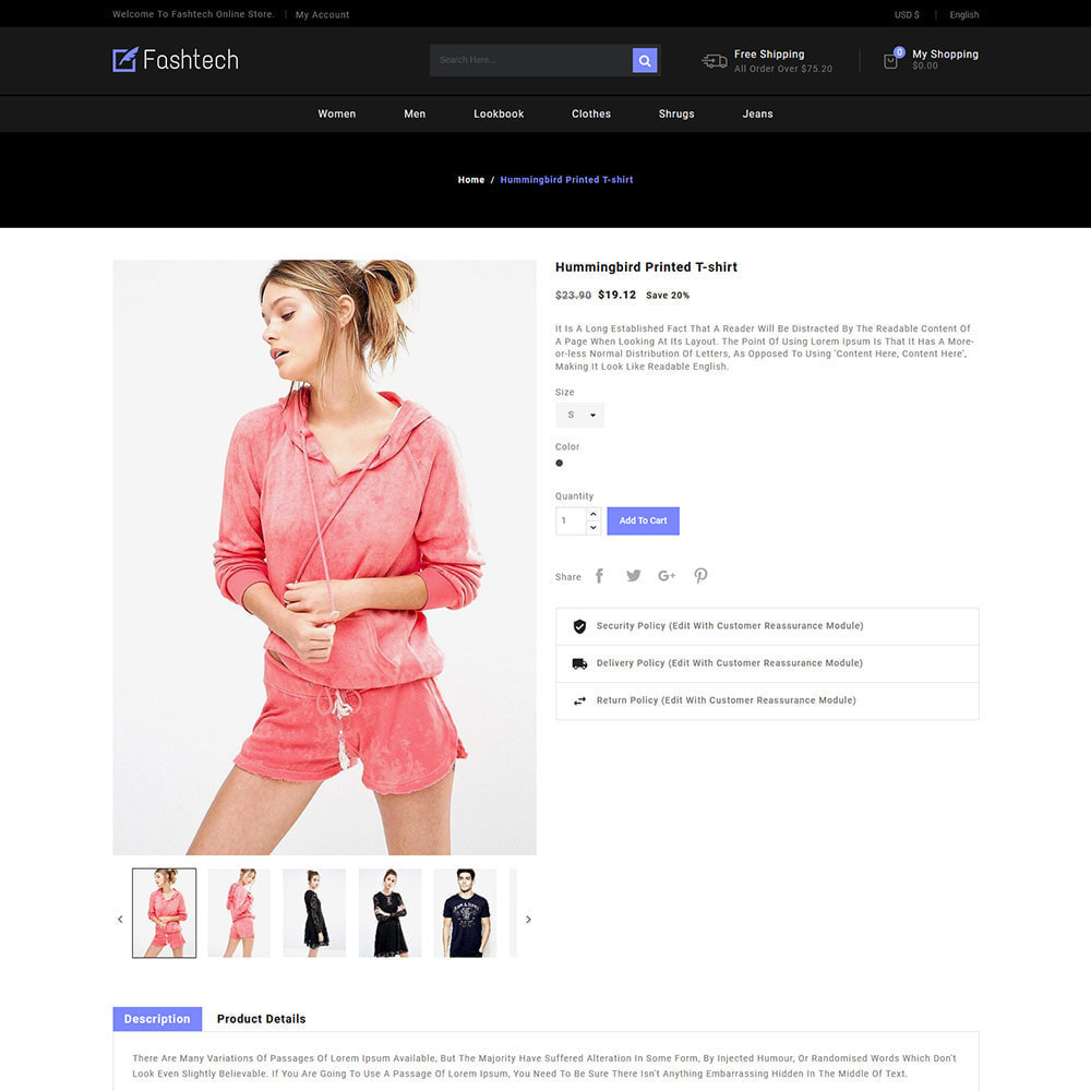 theme - Moda & Calçados - Fashion Apparels - Women Designer  Store - 5