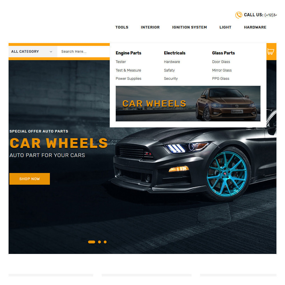 theme - Automotive & Cars - Kiteron Automotive & Cars Shop - 7