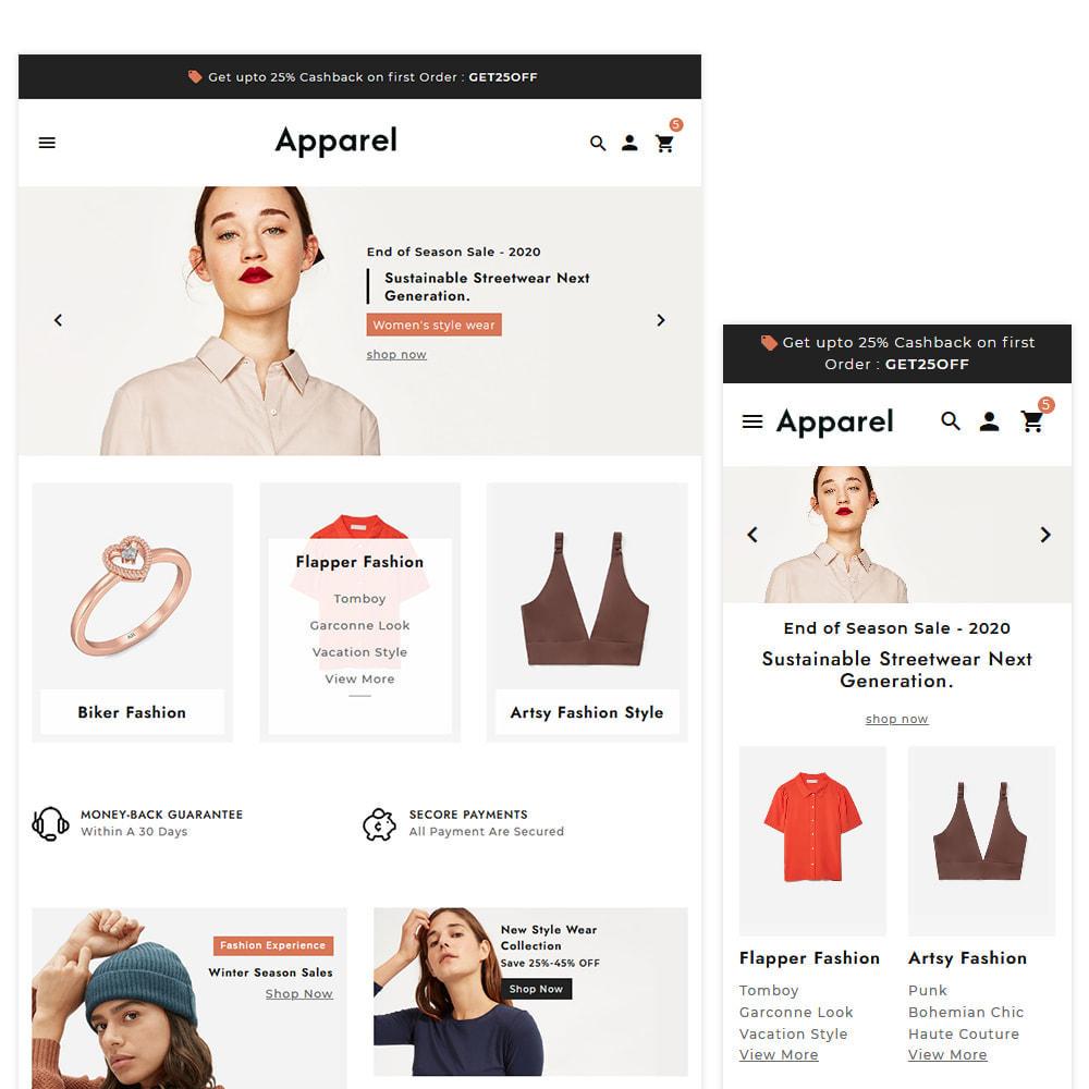 theme - Fashion & Shoes - Apparel Fashion Clothes Super Store - 2