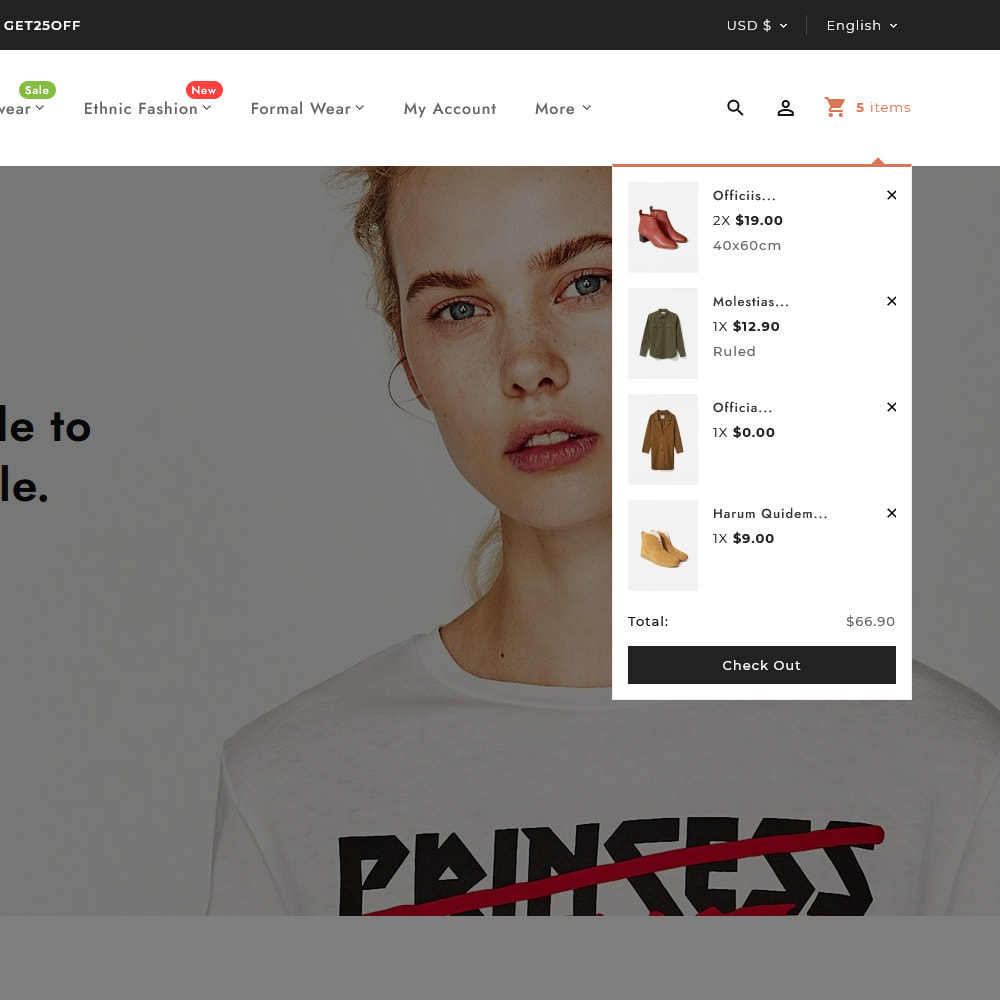 theme - Fashion & Shoes - Apparel Fashion Clothes Super Store - 9
