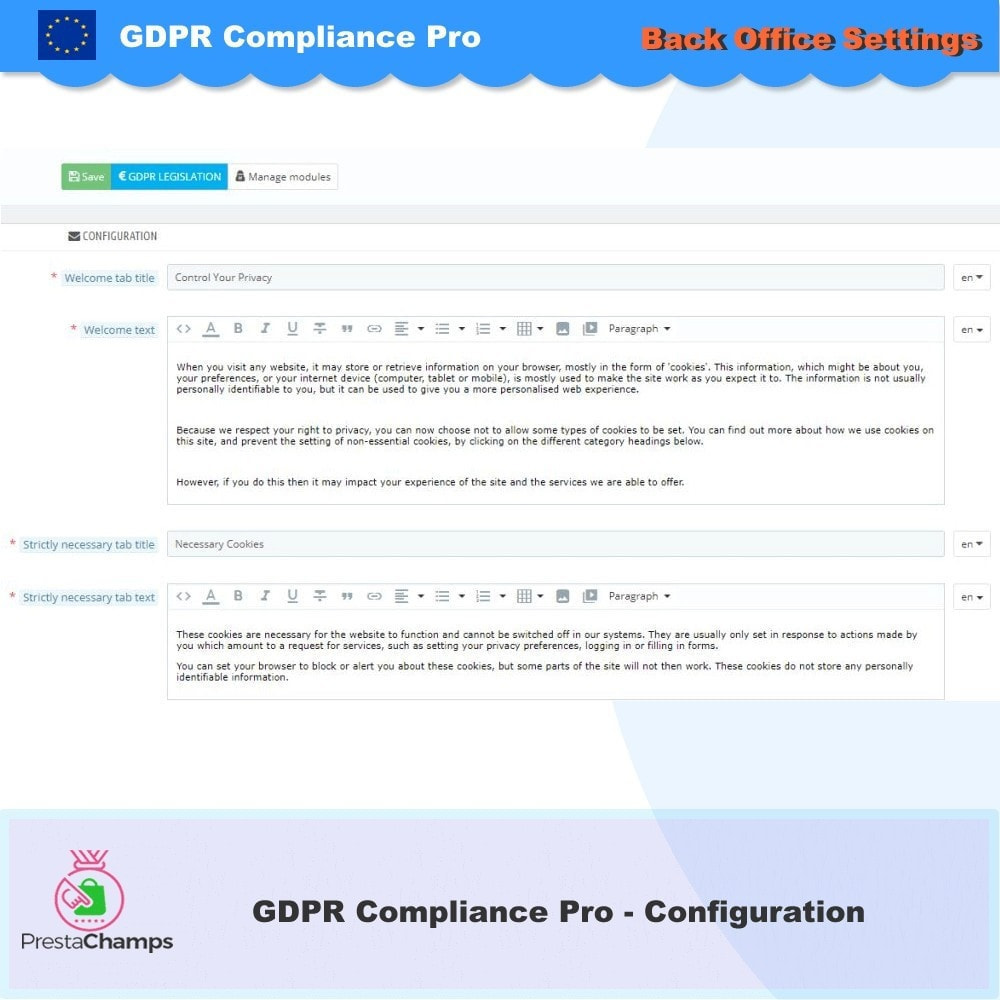 module - Rechtssicherheit - GDPR Compliance Pro - 2021 Verbesserte Edition - 16