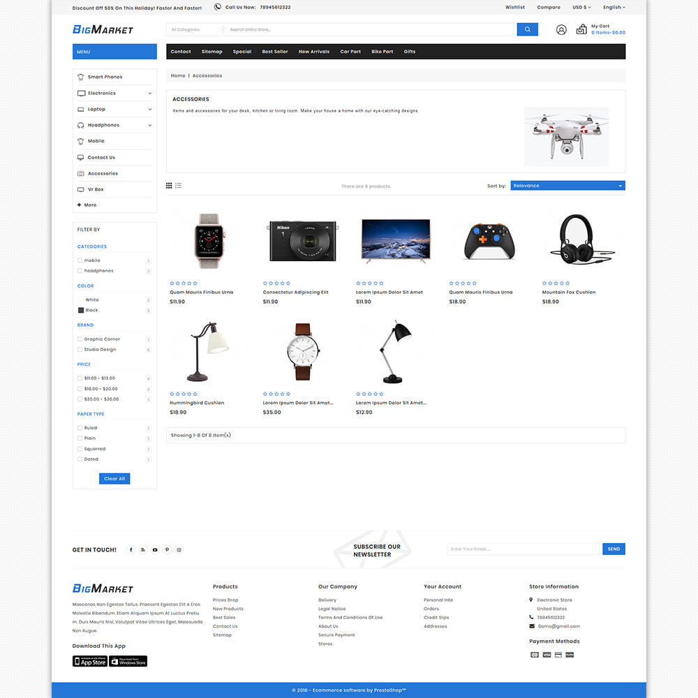 theme - Electronics & Computers - BigMarket - Best Electronics Super Store - 3