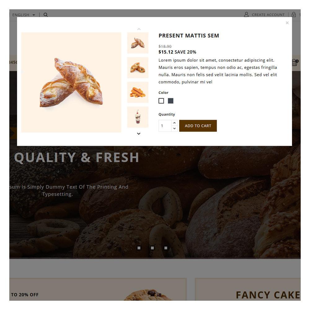theme - Food & Restaurant - Pinecrest Cakes & Cookies Store - 7