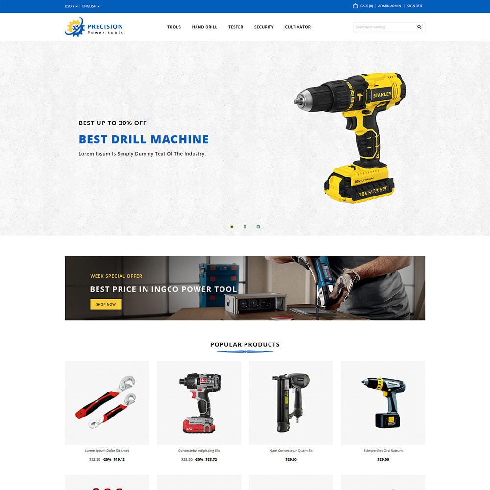 theme - Home & Garden - Precision Home & Garden Tools - 1