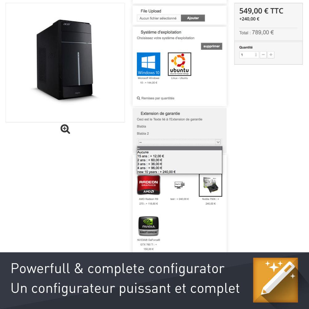 module - Combinazioni & Personalizzazione Prodotti - Personalizzazione, pacchetti e opzioni di prodotto - 3