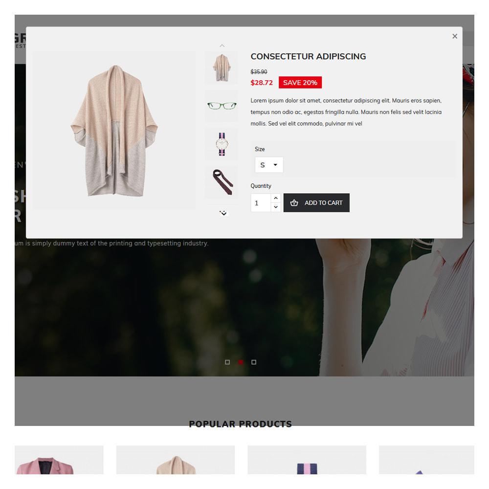 theme - Fashion & Shoes - Grayson Minimal Store - 8
