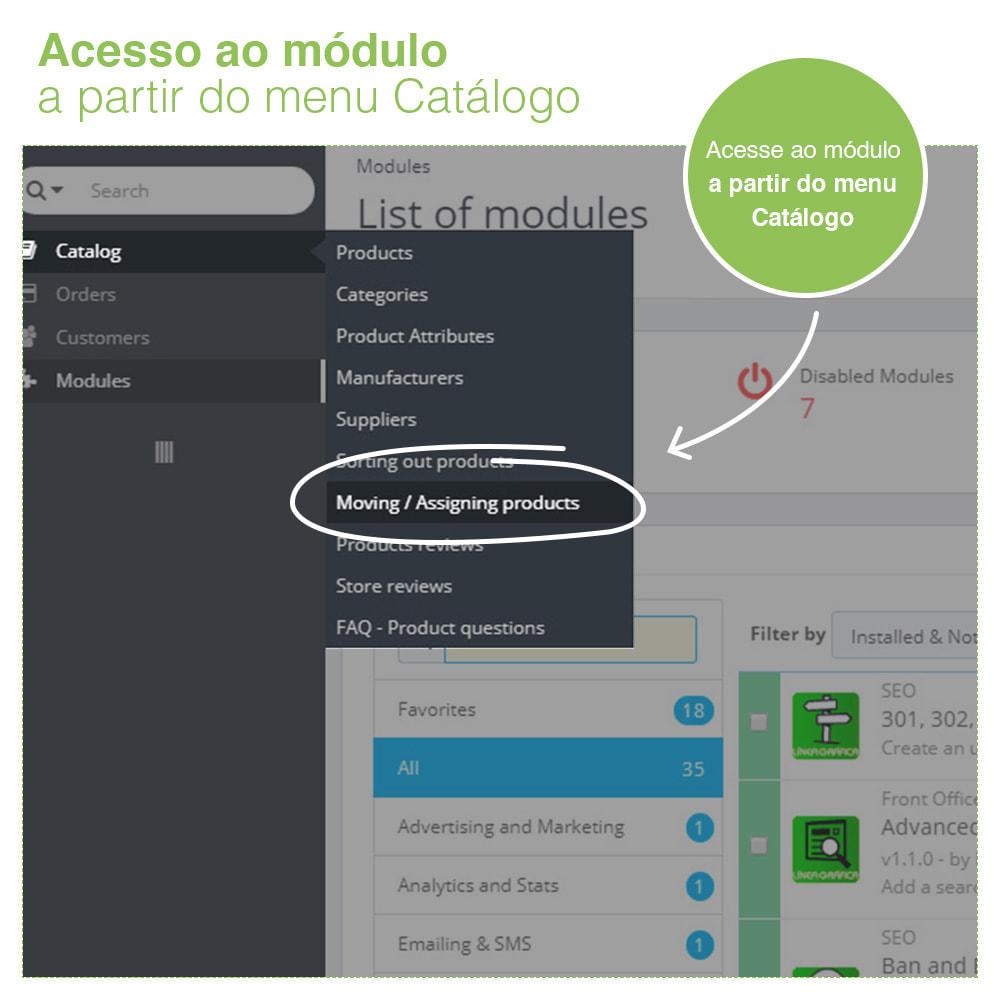 module - Edição rápida & em massa - Mover e associar produtos entre categorias em massa - 8