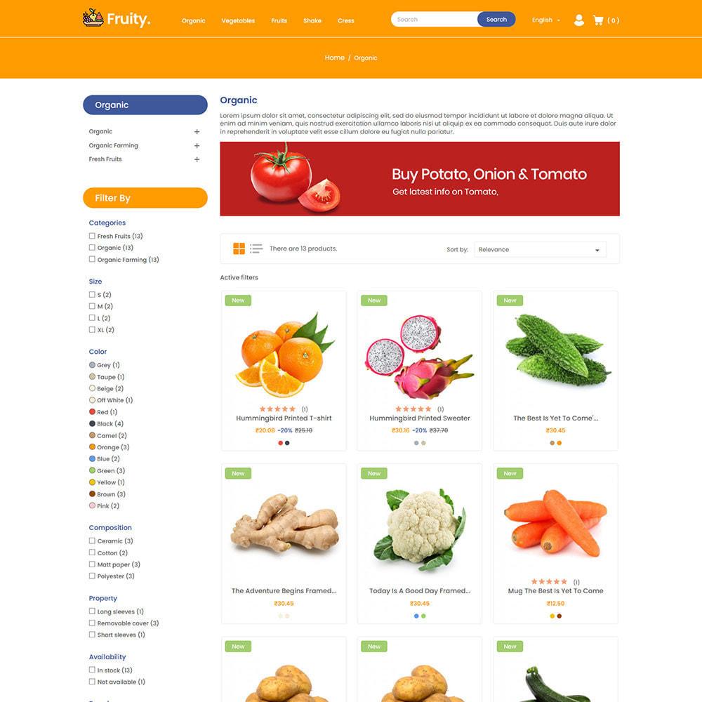 theme - Food & Restaurant - Fruity Vegetable  - Fruit Food  Store - 3