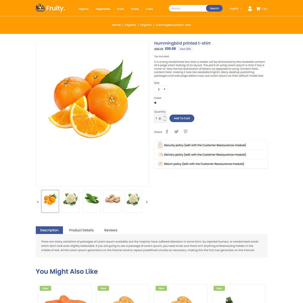 theme - Food & Restaurant - Fruity Vegetable  - Fruit Food  Store - 5