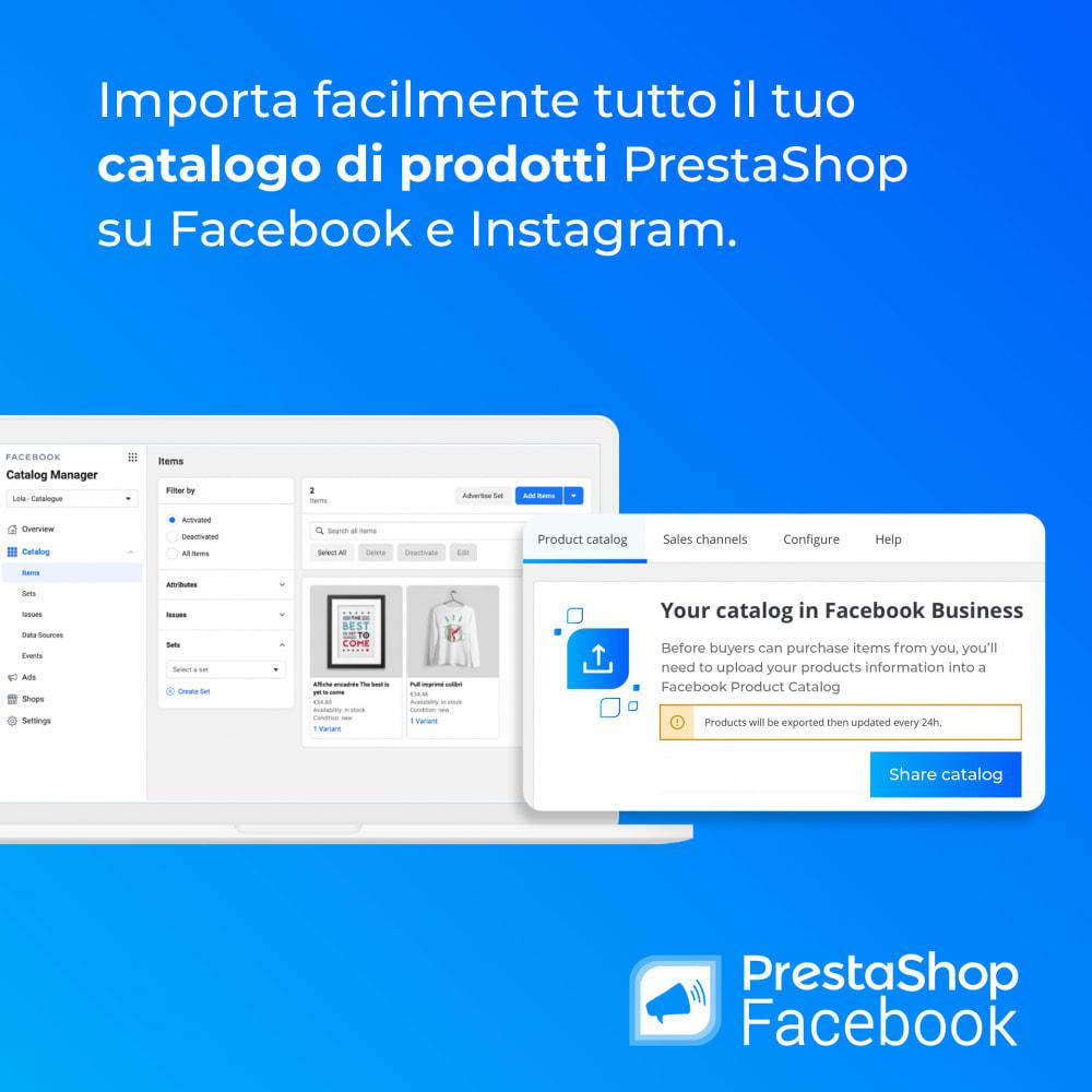 module - Prodotti sui Facebook & Social Network - PrestaShop Facebook - 3