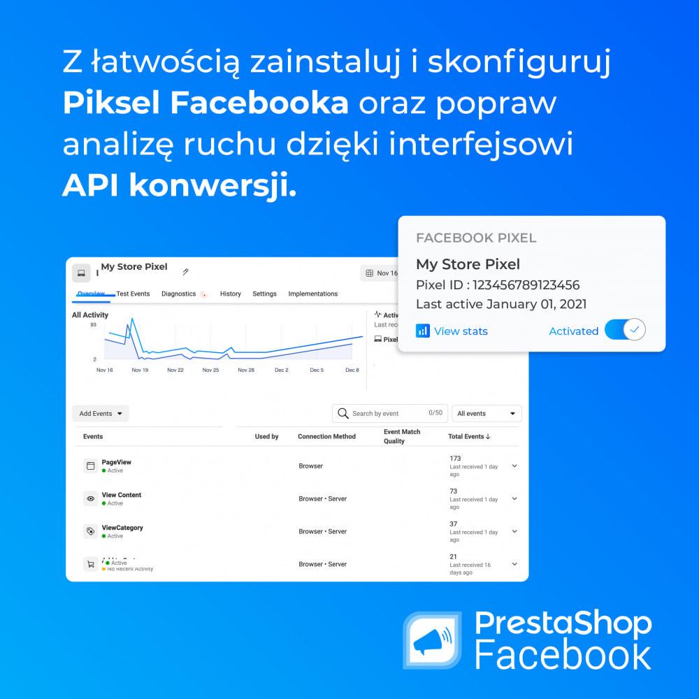 module - Produkty w serwisach społecznościowych - PrestaShop Facebook - 2