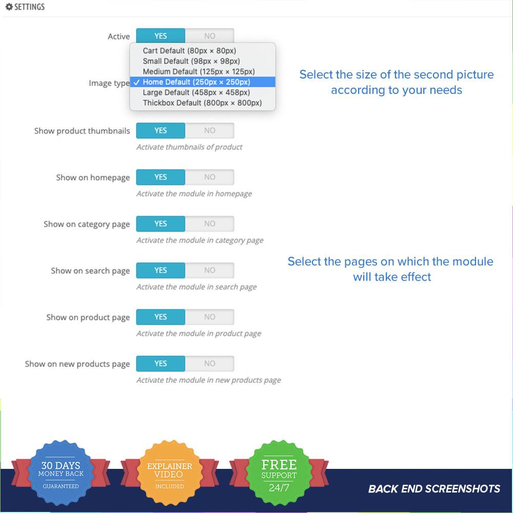 module - Visuels des produits - Second Picture and Attributes - 3