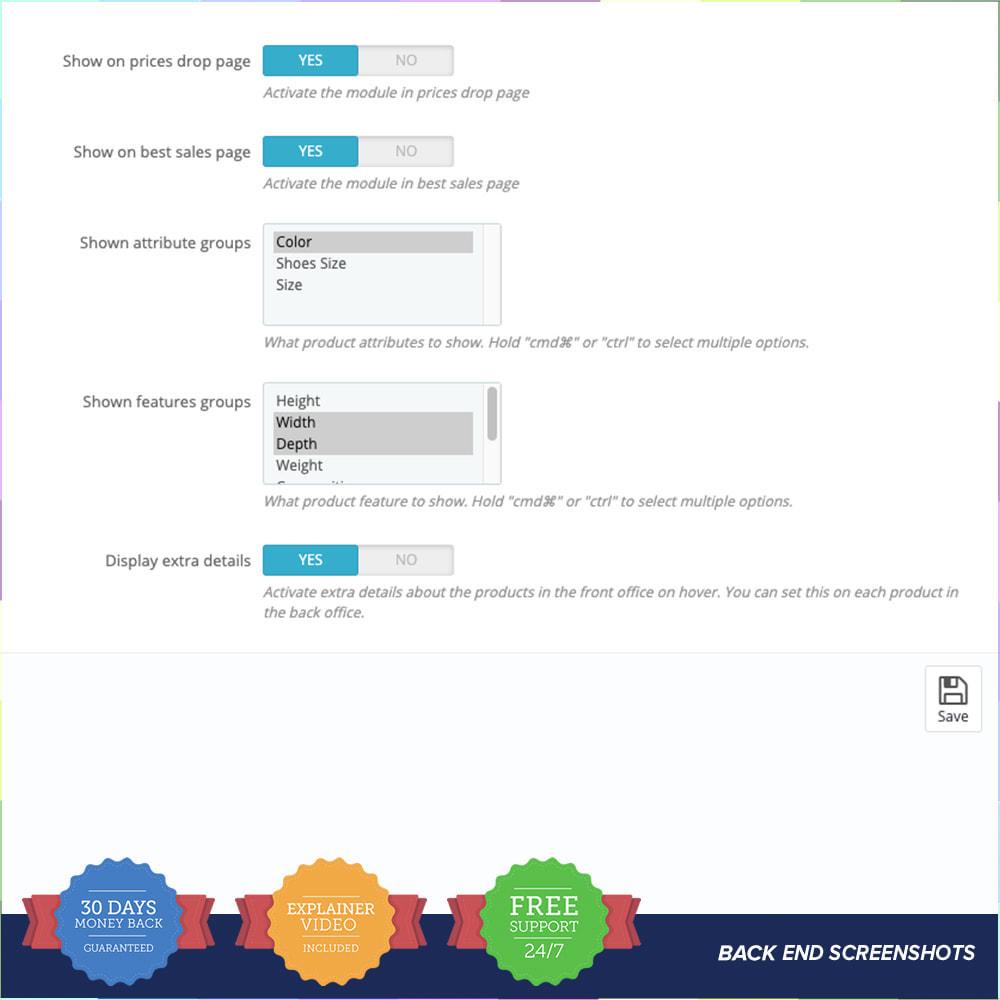 module - Visuels des produits - Second Picture and Attributes - 4