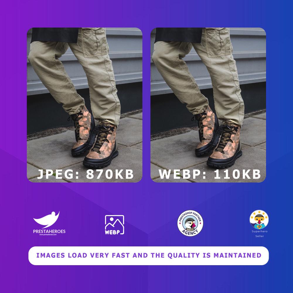 module - Website Performance - WebP image converter for Google Page Speed Optimization - 3